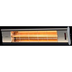 Incalzitor Veito AERO S TOUCH 2,5kW, fibra Carbon, Aluminiu, Telecomanda, Afisaj LED, 4 Trepte, Weatherproof