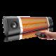 Pachet Incalzitor cu Stand Veito CH2500RW 2,5kW, fibra Carbon, Aluminiu, Termostat, Telecomanda, 4 Trepte